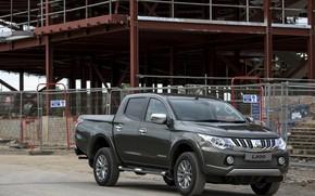 Picture the building, Mitsubishi, pickup, L200, 2015, the site