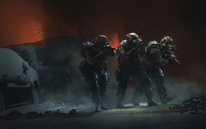 Picture military, Illustration, Soldier, Soldiers, René Aigner, by René Aigner, Close formation