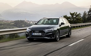 Picture road, Audi, universal, 2019, A4 Avant, S4 Before