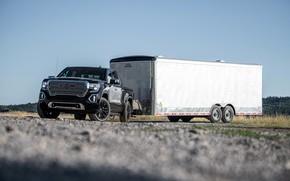 Picture pickup, the trailer, GMC, Denali, Sierra, 2019