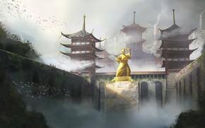 Picture Figure, Japan, Palace, Castle, Japan, Architecture, Art, Concept Art, Architecture, Monument, Feudal Japan, Environments, North …