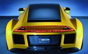 Picture Concept, 2008, Saleen, rear view, Raptor, S5S