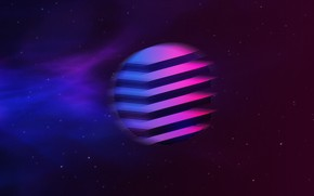 Picture Music, Stars, Space, Background, Neon, Synth, Retrowave, Synthwave, New Retro Wave, Futuresynth, Sintav, Retrouve, Outrun
