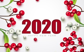 Picture decoration, holiday, New year, New Year, decor, 2020
