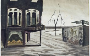 Picture Ohio, Charles Ephraim Burchfield, Eating Place, 1946-47, East Salem