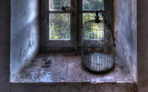 Picture freedom, cell, window, naturalism