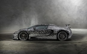 Picture Bugatti, Veyron, side view, 2018, Mansory, Vivere Diamond Edition