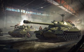 Picture people, tanks, military, War Thunder
