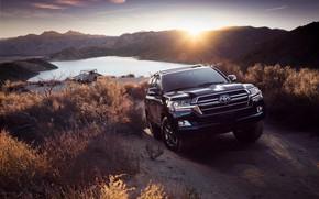 Picture sunset, SUV, Toyota, 200, Land Cruiser, Heritage Edition, 2019