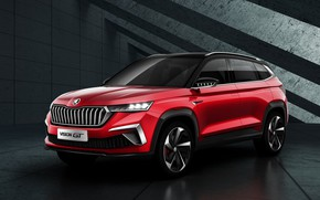 Picture crossover, Skoda, Vision GT, 2019