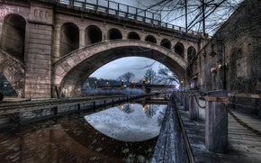 Picture Pennsylvania, Philadelphia, Glen Willow, Manayunk Evening