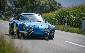 Picture Classic, 1970, Rally, Rally, Classic car, Alpine, A110, Alpine A110, Alpine A110 1600S, Rally Icon