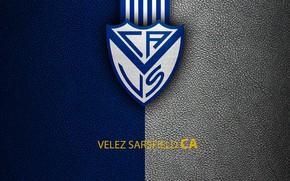 Picture wallpaper, sport, logo, football, Club Atletico Velez Sarsfield