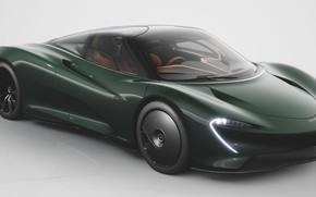 Picture Green, Hypercar, 2020, McLaren Speedtail
