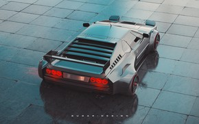 Picture BMW, Machine, Car, Render, Supercar, Rendering, Sports car, BMW M1, Transport & Vehicles, by Sugar …