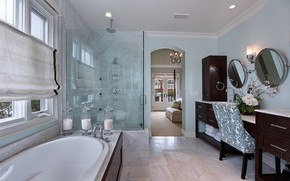 Picture design, style, furniture, mirror, chair, bathroom, toilet room
