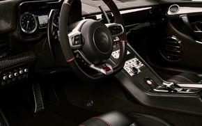 Picture coupe, interior, V10, De Tomaso Pantera, Hurricane, Lamborghini Huracan, 2020, two-door, Project1, Panther ProgettoUno, ARES …
