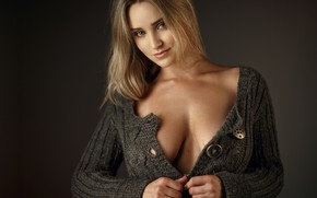 Picture pretty, blonde, Sergey Sorokin