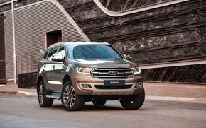 Picture wall, Ford, Everest, Limited, 4WD, the five-door, 2019