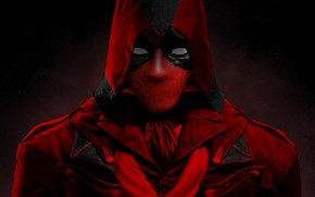 Picture Ryan Reynolds, Red, Black, Deadpool, Marvel, Comics, Suit, Mutant, 20th Century Fox, Man, Movie, Mask, …