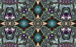 Picture pattern, figure, bright colors