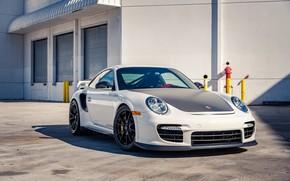 Picture White, 2011, Sportcar, Porsche 911 GT2RS