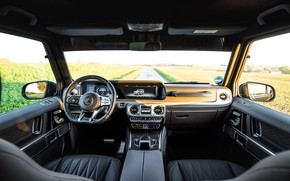 Picture Mercedes-Benz, salon, AMG, Inferno, G-Class, Gelandewagen, G63, Manhart, 2019, G 700