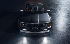 Picture Auto, Machine, Grey, Car, Render, Rendering, The front, Widebody, Grey, 635csi, Transport & Vehicles, BMW …