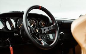 Picture 911, Porsche, interior, salon, steering wheel, Porsche Carrera RS