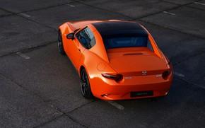 Picture orange, Mazda, rear view, Targa, 30th Anniversary Edition, 2019, MX-5 RF