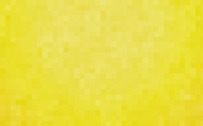 Picture yellow, background, Wallpaper, pixels, square