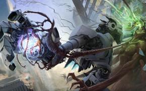 Picture robot, fight, Helder ALMEIDA, Gorgon