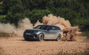 Picture dust, Land Rover, Range Rover, primer, SUV, V8, Velar, 2019, Dynamic Edition, SV Autobiography