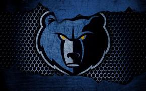 Picture wallpaper, sport, logo, basketball, NBA, Memphis Grizzlies