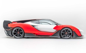 Picture coupe, coupe, sports car, exterior, sports car, light background, McLaren Sabre