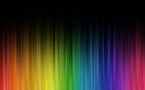Picture rays, colored, rainbow, цветной занавес