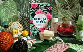 Picture summer, perfume, soap, book, fern, soap, cosmetics, book, cosmetics, fern