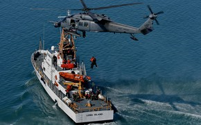 Picture Helicopter, USAF, HH-60G Pave Hawk, US Coast Guard