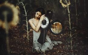 Picture girl, watch, Marta Belda
