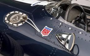 Picture Speedometer, Mirror, Eagle, The wheel, Formula 1, 1966, Classic car, Sports car, Eagle T1G (Mk1)