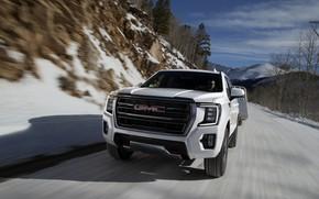 Picture GMC, SUV, trailer, Yukon, AT4, 2020, 2021