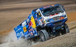Picture Sand, Sport, Machine, Truck, Race, Master, Russia, Kamaz, Rally, Dakar, KAMAZ-master, Dakar, Rally, KAMAZ, The …