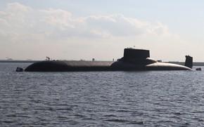 Picture submarine, shark, atomic