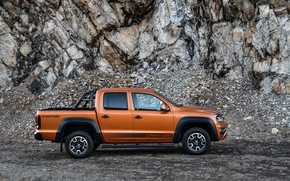 Picture Volkswagen, pickup, Amarok, in profile, Canyon, 2019