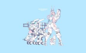 Picture Girl, Gun, Sexy, Art, Minimalism, Characters, Cyber, Bunny, Bunnies, Ren Wei Pan, Easter Bunny Escort …