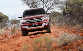 Picture Ford, front view, Everest, 4WD, 2015, Titanium