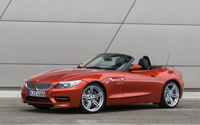 Picture BMW, Roadster, 2013, E89, BMW Z4, Z4, sDrive35is, on wall background