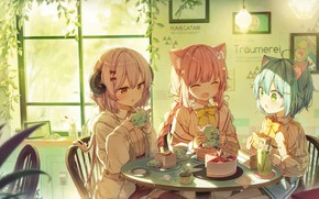 Picture girls, fantasy, the tea party