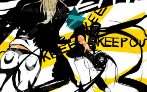 Picture Soul eater, Soul Eater, from the back