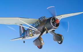 Picture The plane, Screw, RAF, The Second World War, Chassis, Cockpit, Westland Lysander, The plane of …